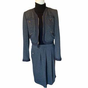 Etcetera Two Piece Set | Blazer and Dress Grey Blk